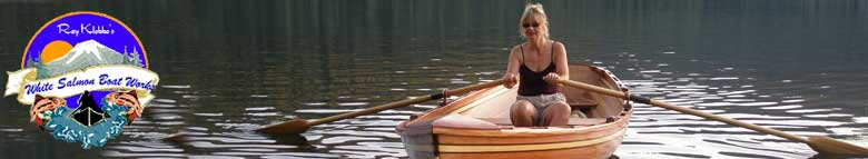 Custom built woodstrip canoes and kayaks